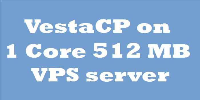 ubuntu vestacp 512 mb vps server